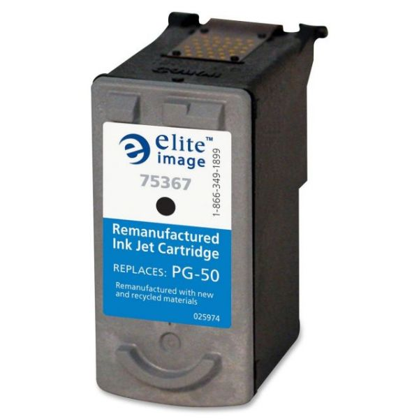 Elite Image Remanufactured Canon PG-50 Ink Cartridge