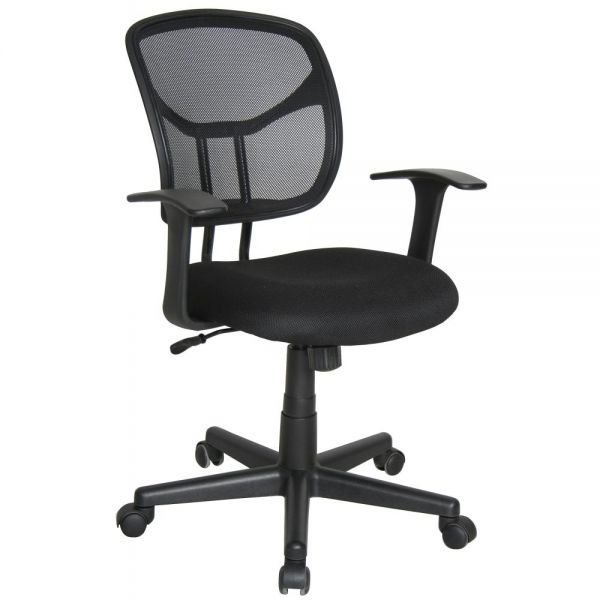 OFM Essentials Mesh Swivel Task Chair with Arms