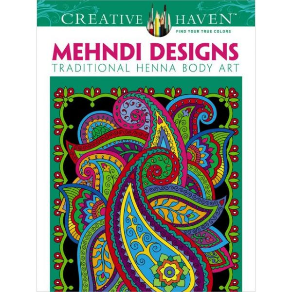 Dover Publications: Creative Haven Awesome Animal Coloring Book