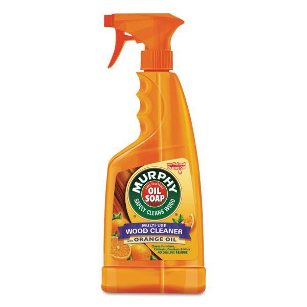 Murphy Oil Soap Spray Formula, All-Purpose, Orange, 22 oz Spray Bottle, 9/Carton