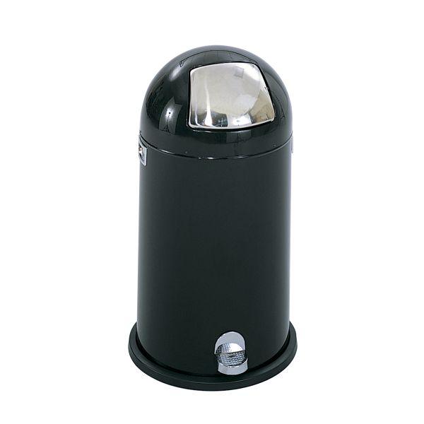 Safco Dome Top Step-On 12 Gallon Trash Can