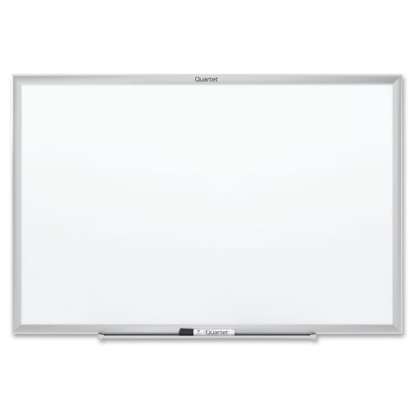 "Quartet 24"" x 18"" Standard Magnetic Painted Steel Dry Erase Whiteboard"
