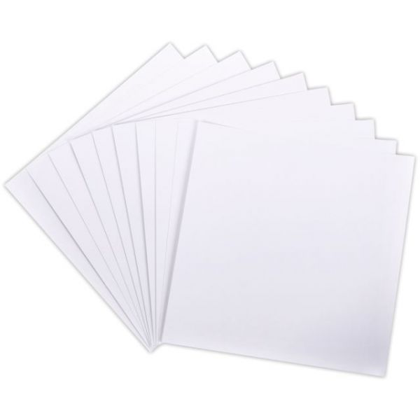 Core'dinations White Canvas Cardstock