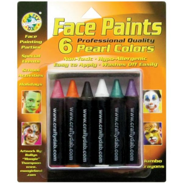 Face Paint Jumbo Crayons