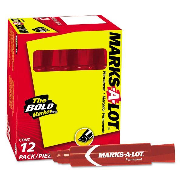 Marks-A-Lot Jumbo Tip Permanent Marker