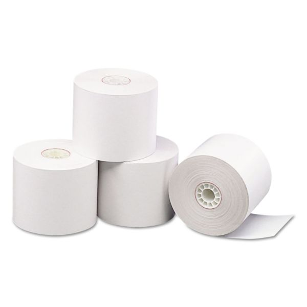 "PM Company Direct Thermal Printing Thermal Paper Rolls, 2 5/16"" x 209 ft, White, 24/Carton"