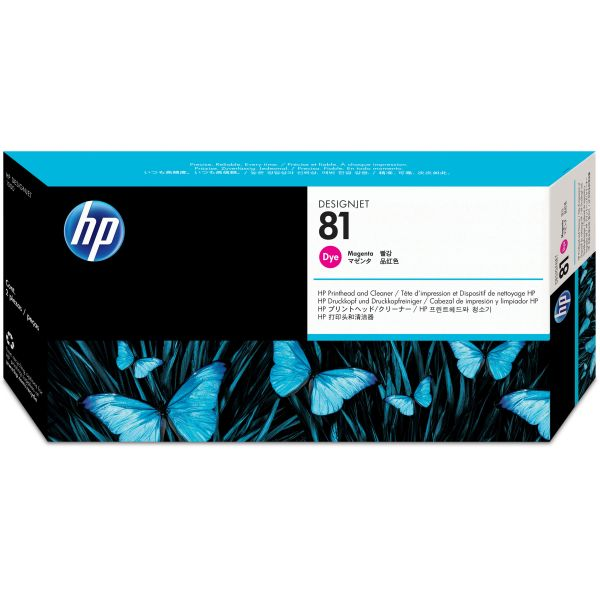 HP 81 Magenta Printhead & Cleaner (C4952A)