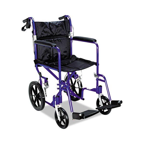 Medline Deluxe Transport Chair