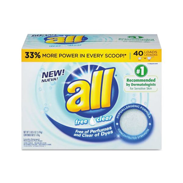All Free & Clear Powder Laundry Detergent