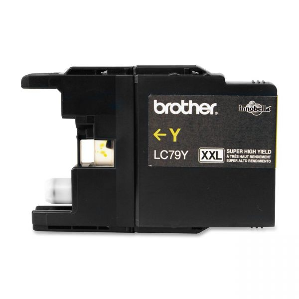 Brother LC79Y Yellow Super High Yield Ink Cartridge