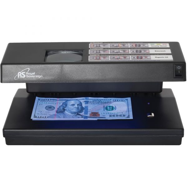 4 Way Counterfeit Detector with UV, Magnetic Ink, Infrared and Microprint detection