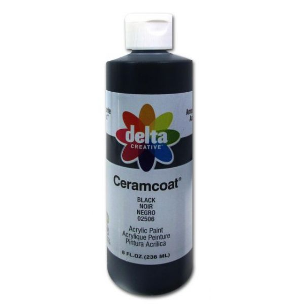 Ceramcoat Black Acrylic Paint