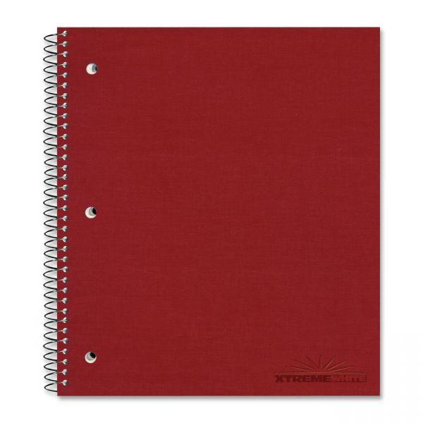 Rediform National Pressguard Cover College Ruled Spiral Notebook