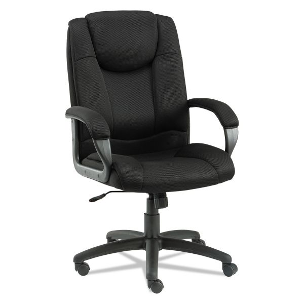 Alera Logan Series Mesh High-Back Swivel/Tilt Office Chair