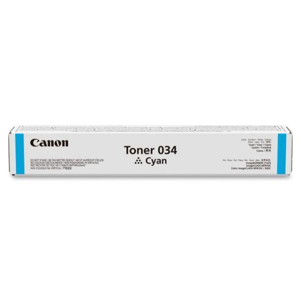 Canon Toner 034 Cyan Toner Cartridge (CRTDG034C)