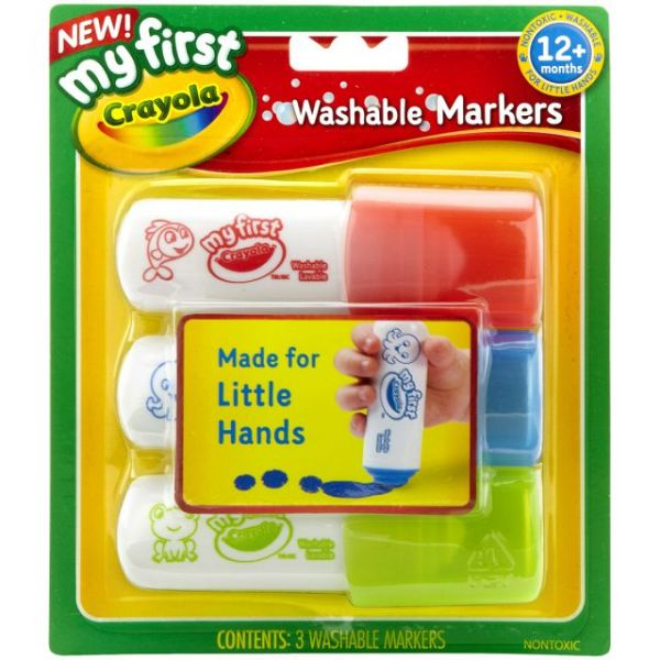 My First Crayola Washable Markers 3/Pkg