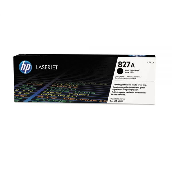 HP 827A Black Toner Cartridge (CF300A)