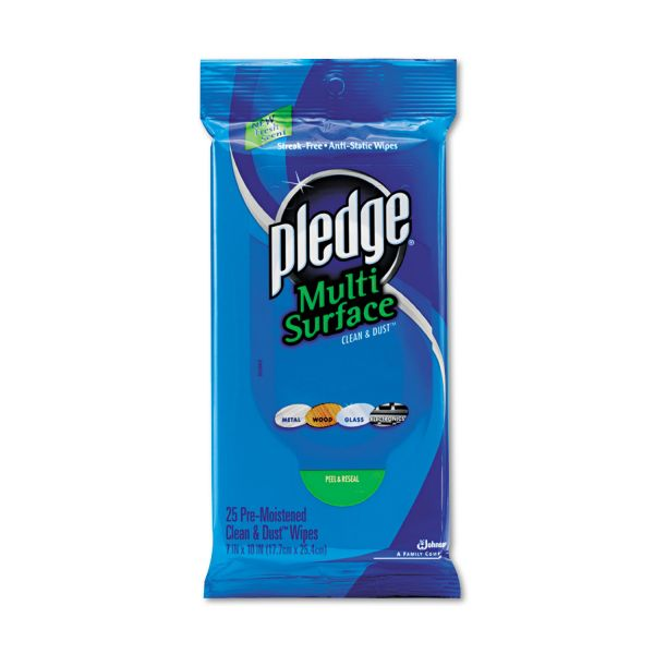 Pledge Multi-Surface Wet Wipes