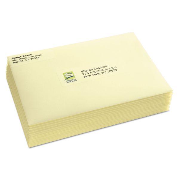 Avery Matte Clear Easy Peel Address Labels, Laser, 1 1/3 x 4, 700/Box