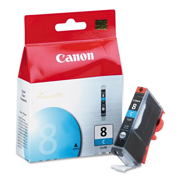 Canon CLI-8C Cyan Ink Cartridge (0621B002)