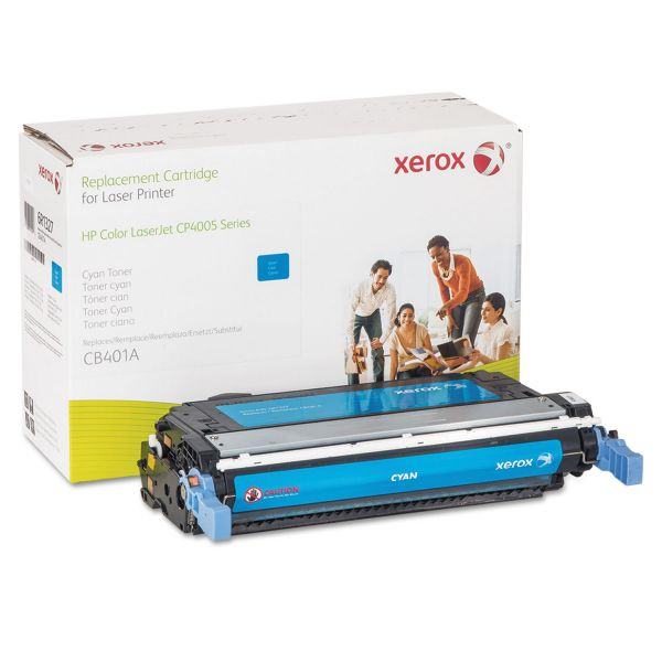 Xerox Remanufactured HP CB401A Cyan Toner Cartridge