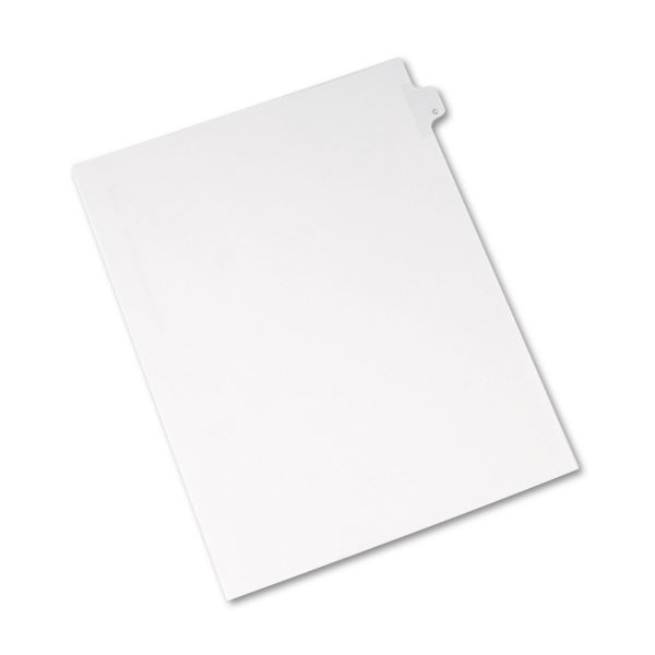 Avery Allstate-Style Legal Exhibit Side Tab Divider, Title: C, Letter, White, 25/Pack