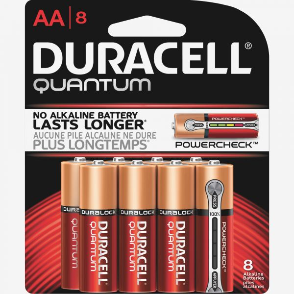 Duracell Quantum Advanced Alkaline AA Battery - QU1500