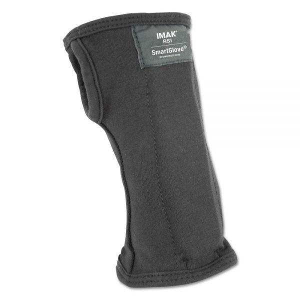 IMAK SmartGlove Wrist Wrap, Large, Black
