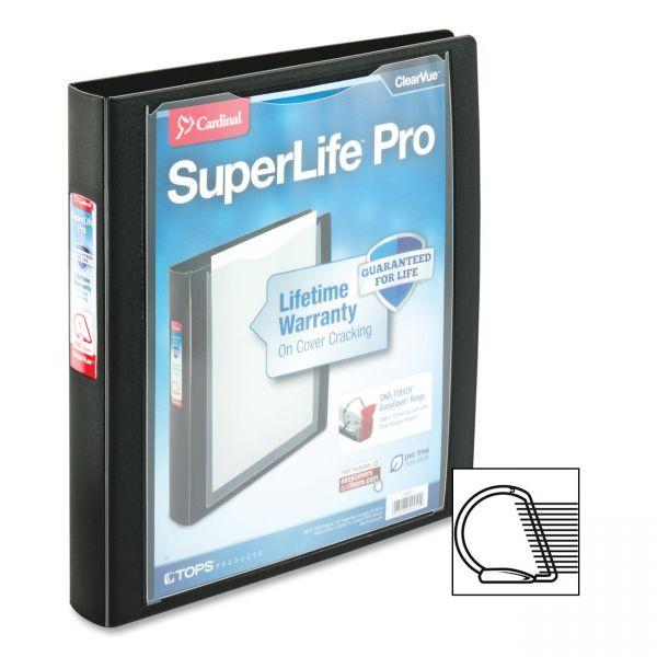"""Cardinal SuperLife Pro 1 1/2"""" 3-Ring View Binder"""