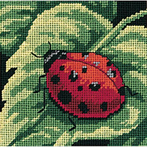 Ladybug, Ladybug... Mini Needlepoint Kit
