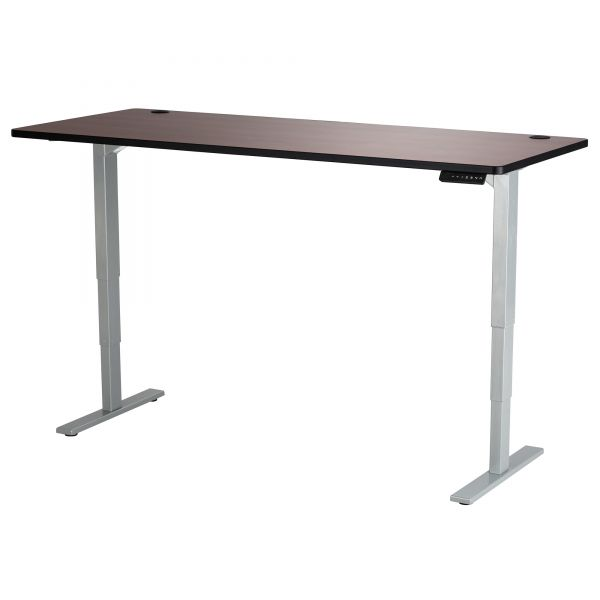 Safco Cherry Lam. Electric Ht-adj. Table Tabletop