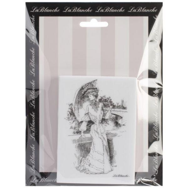 "LaBlanche Silicone Stamp 4""X3"""