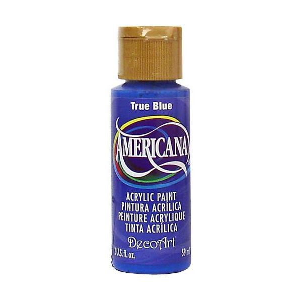 Deco Art Americana True Blue Acrylic Paint