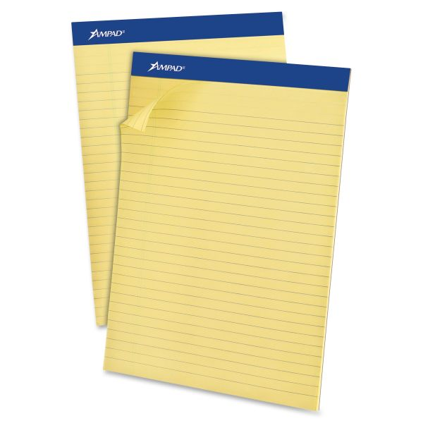 Ampad Letter-Size Yellow Legal Pads