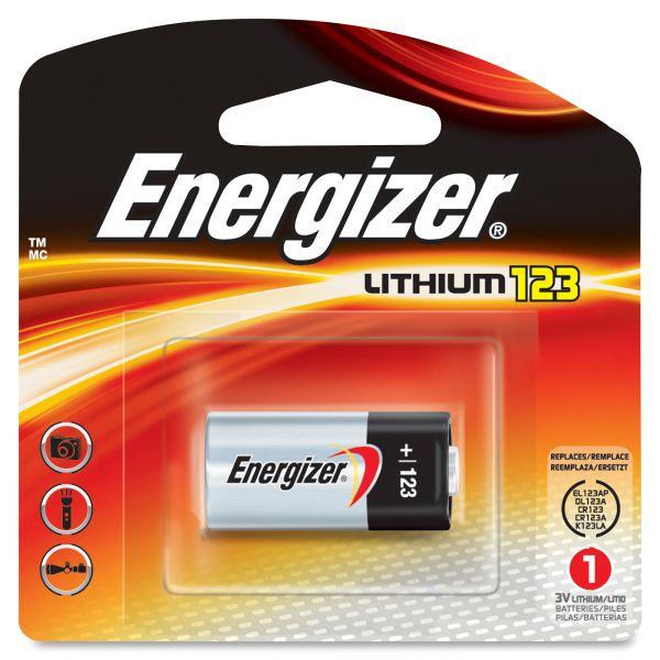 Energizer 123 Lithium Battery