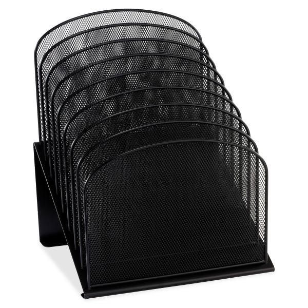 Safco 8-Tiered Mesh Desk Vertical File Organizer
