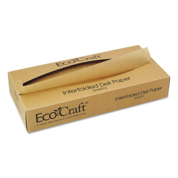 EcoCraft Interfolded Soy Wax Deli Tissue Sheets