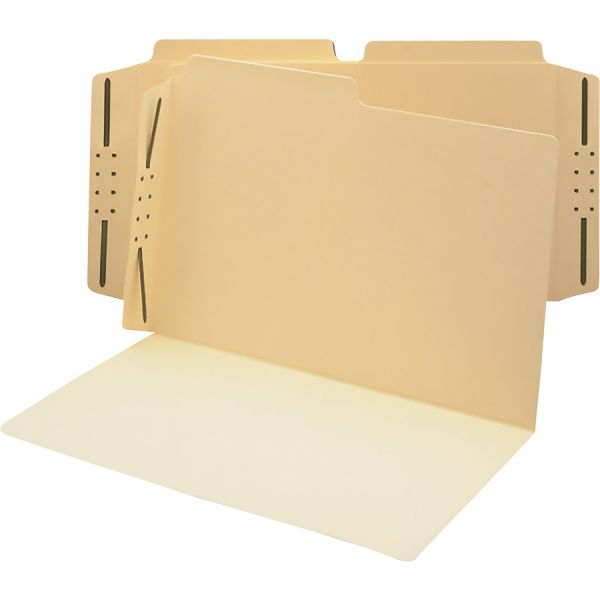 Smead Manila Heavyweight File Folders With Fasteners