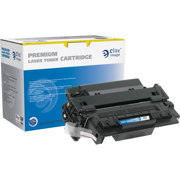 Elite Image Remanufactured HP 55A (CE255A) Toner Cartridge