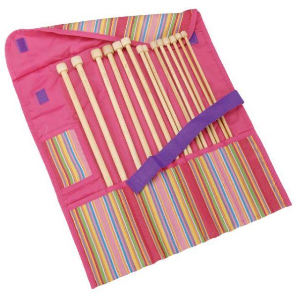 Getaway Takumi Bamboo Single Point Knitting Needle Gift Set