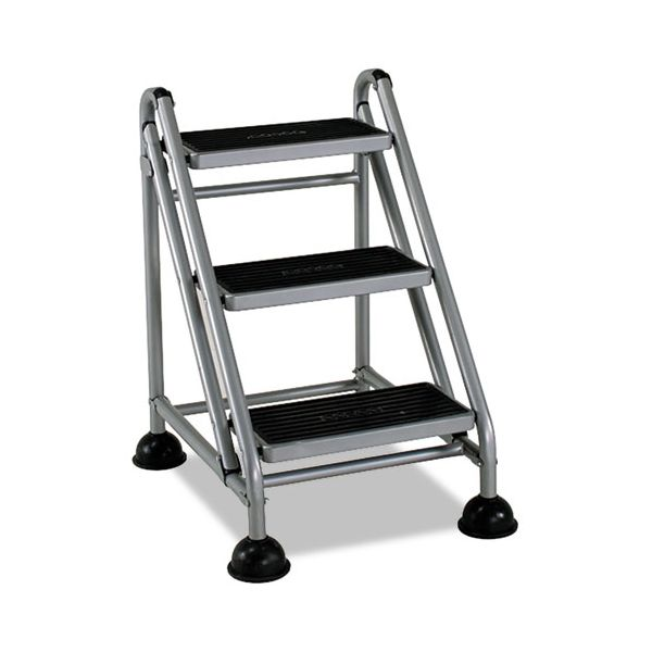 Cosco Rolling 3-Step Commercial Step Stool