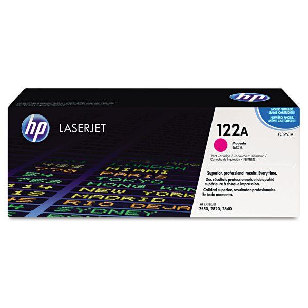 HP 122A Magenta Toner Cartridge (Q3963A)