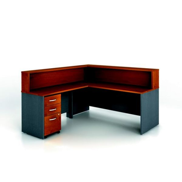 bbf Series C Reception Configuration - Natural Cherry finish by Bush Furniture