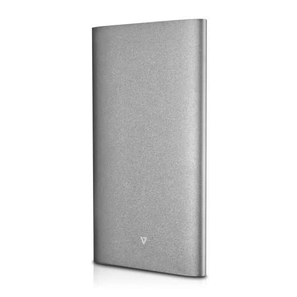 V7 Ultra-Slim 10,000 mAh Dual USB Powerbank