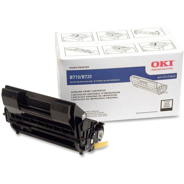 Oki 52123602 Black High Yield Toner Cartridge