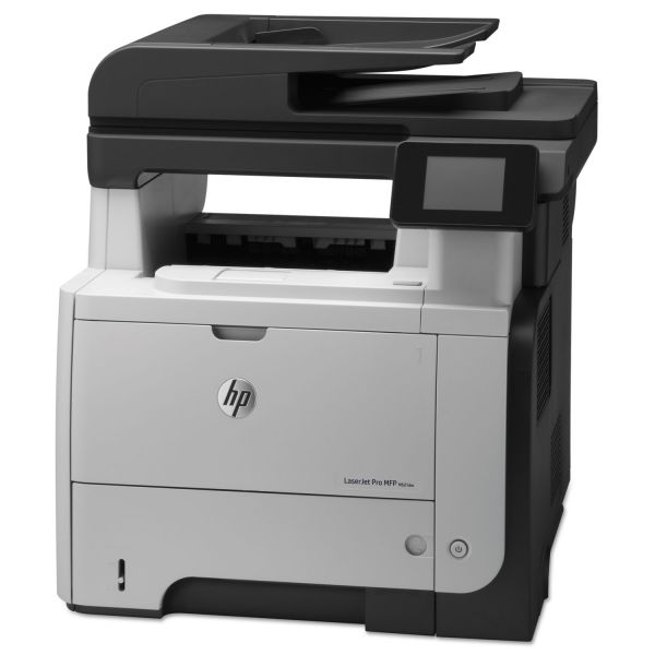 HP LaserJet Pro M521dn Multifunction Laser Printer, Copy/Fax/Print/Scan