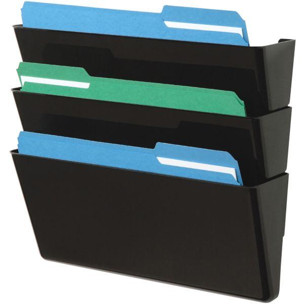 Deflecto DocuPockets Wall File Pockets