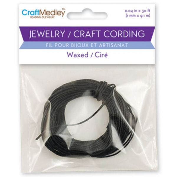 Craft Medley Jewelry/Craft Waxed Cording