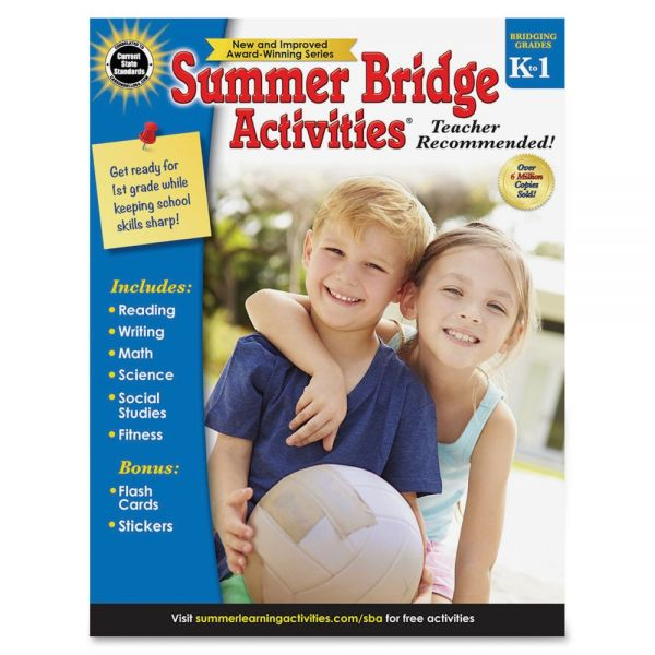 Summer Bridge Gr K-1 Activities Workbook Activity Printed Book