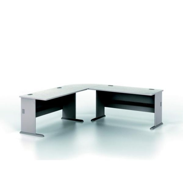 bbf Series A Administrative Configuration - Pewter finish by Bush Furniture
